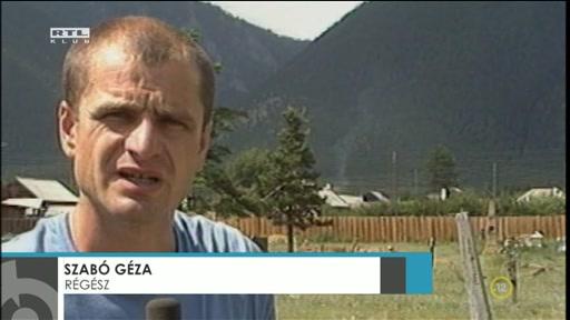 Szabó Géza, régész