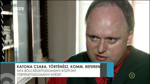 Katona Csaba, történész; kommunikációs referens, Történettudományi Intézet, MTA Bölcsészettudományi Kutatóközpont