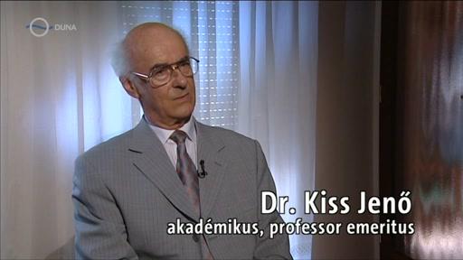 Dr. Kiss Jenő, akadémikus, professor emeritus