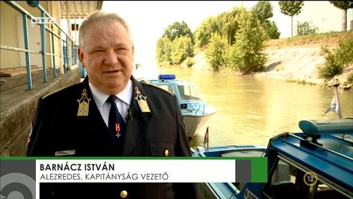 Barnácz István, alezredes, kapitányságvezető, BRFK Dunai Vízirendészeti Rendőrkapitányság