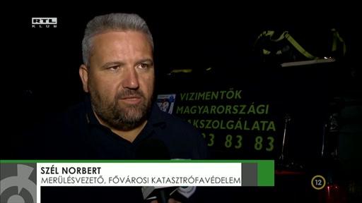 Szél Norbert, merülésvezető, Fővárosi Katasztrófavédelem