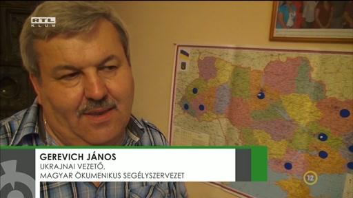 Gerevich János, ukrajnai vezető, Magyar Ökumenikus Segélyszervezet