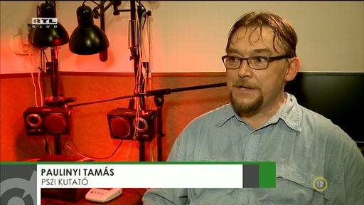 Paulinyi Tamás, pszi-kutató