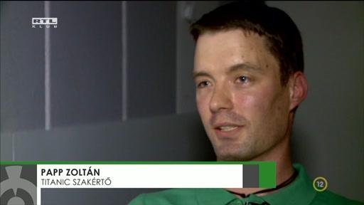 Papp Zoltán, Titanic-szakértő