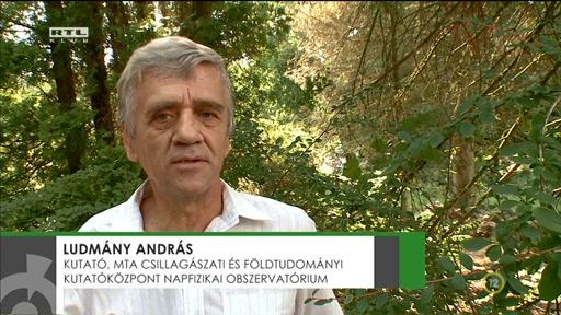 Ludmány András, kutató, Magyar Tudományos Akadémia Csillagászati és Földtudományi Kutatóközpont Napfizikai Obszervatórium