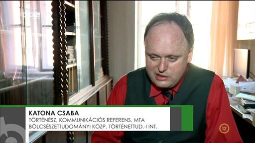 Katona Csaba, történész, kommunikációs referens, Magyar Tudományos Akadémia Bölcsészettudományi Központ Történettudományi Intézet