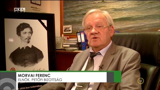 Morvai Ferenc, elnök, Petőfi Bizottság