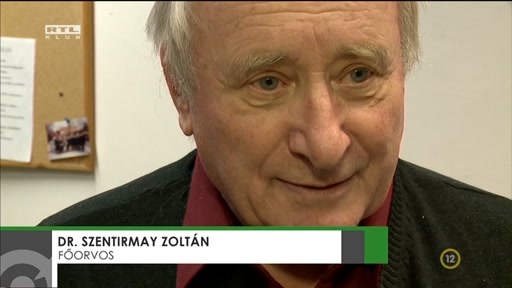 Dr. Szentirmay Zoltán, főorvos