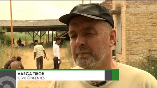 Varga Tibor, civil önkéntes