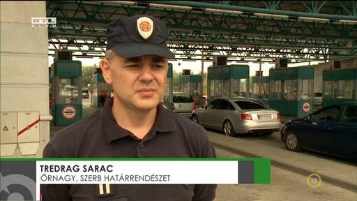 Tredrag Sarac, őrnagy, Szerb Határrendészet
