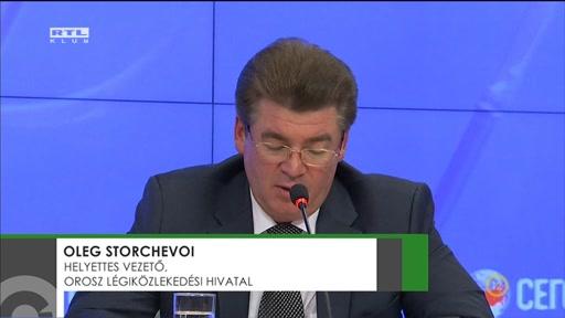 Oleg Storchevoi, helyettes vezető, orosz légiközlekedési hivatal