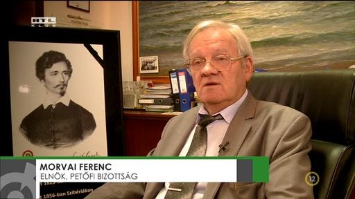 Morvai Ferenc, elnök, Megamorv-Petőfi Bizottság Egyesület