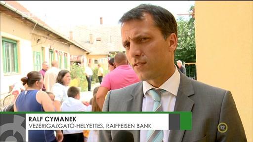 Ralf Cymanek, vezérigazgató-helyettes, Raiffeisen Bank