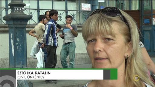 Sztojka Katalin, civil önkéntes