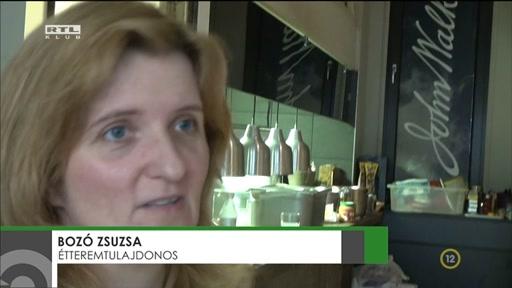 Bozó Zsuzsa, étteremtulajdonos