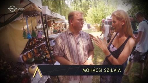 Lackfi János, író, költő, műfordító; Mohácsi Szilvia, műsorvezető