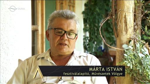 Márta István, fesztiváligazgató, Művészetek Völgye