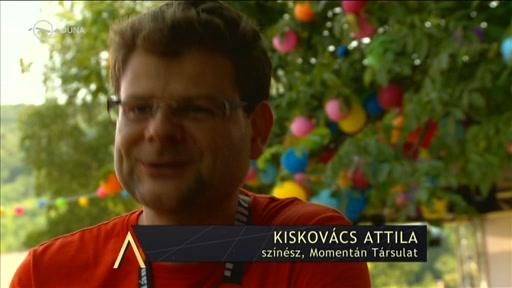 Kiskovács Attila, színész, Momentán Társulat