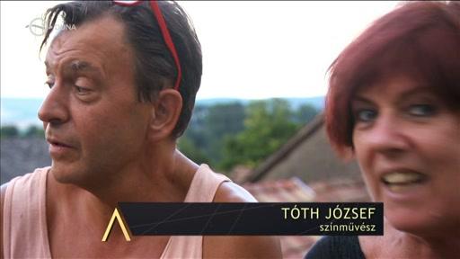 Tóth József, színművész [balra]