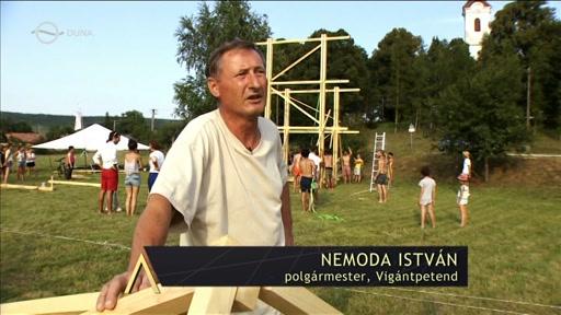 Nemoda István, polgármester, Vigántpetend