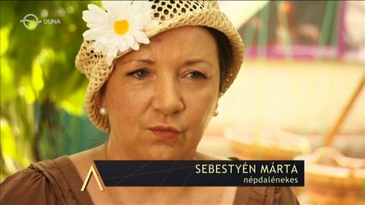 Sebestyén Márta. népdalénekes
