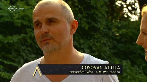 Cosovan Attila, tervezőművész; tanár, MOME