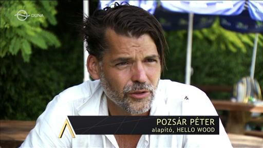 Pozsár Péter, alapító, Hello Wood