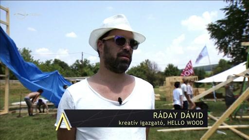 Ráday Dávid, kreatív igazgató, Hello Wood