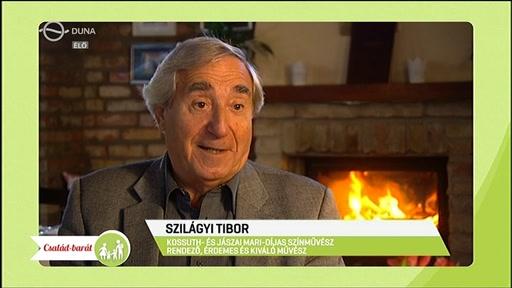 Szilágyi Tibor, Kossuth- és Jászai Mari-díjas színművész, rendező, érdemes és kiváló művész