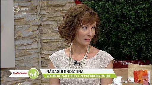 Nádasdi Krisztina, vegán kozmetikus, szepsegkonyha.hu