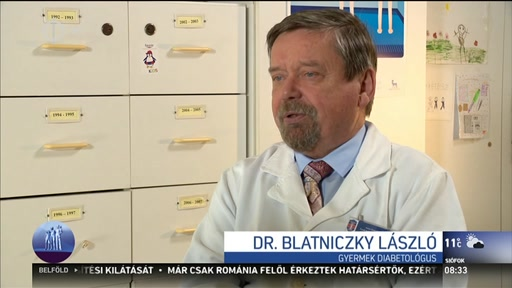 Dr. Blatniczky László, gyermek diabetológus