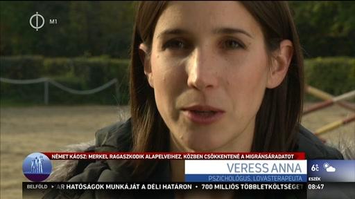 Veress Anna, pszichológus, lovasterapeuta